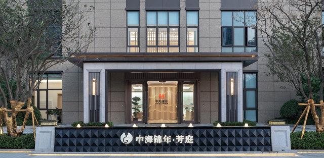 无锡中海锦年芳庭养老机构铝合金窗花效果图
