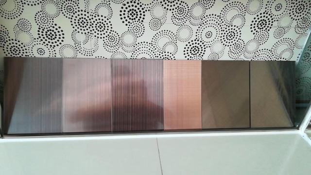 高光电镀拉丝铝单板