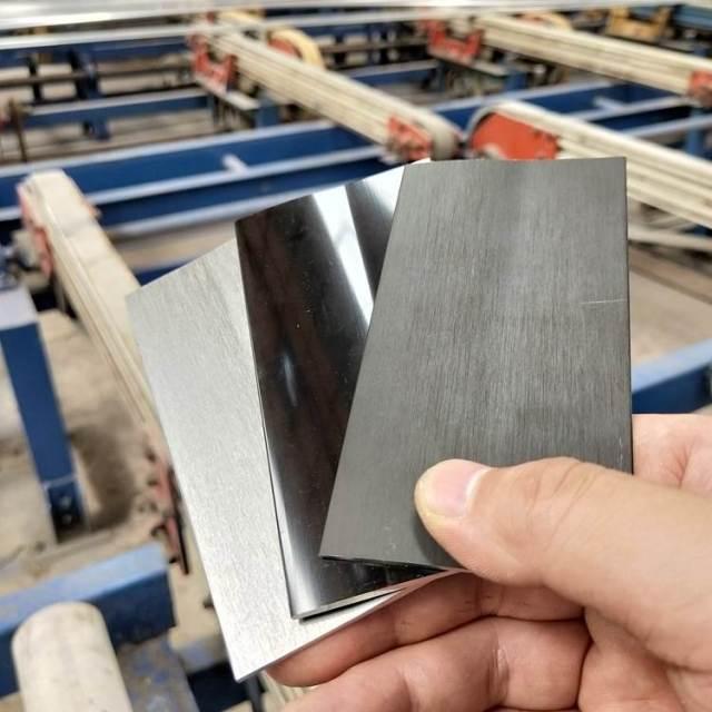 拉丝镜面磨砂氧化铝板