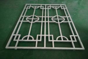 单开铝方管焊接窗花