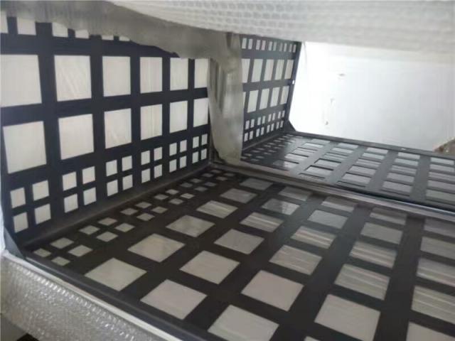 方形冲孔镂空铝合金空调罩