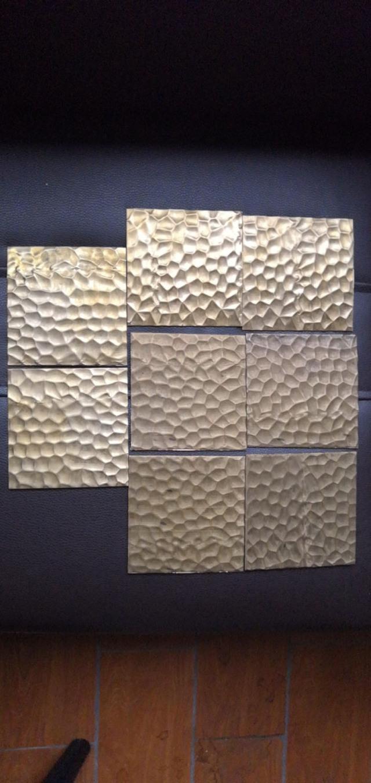 仿铜色凹凸锤纹铝板