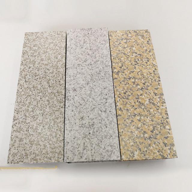 各种麻面石纹铝单板