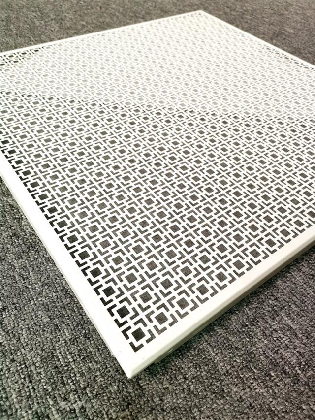 中式回字形孔雕刻铝单板