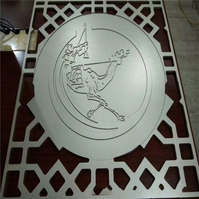 镂空浮雕铝单板