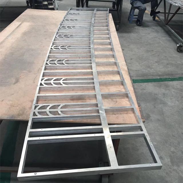 中式铝合金护栏