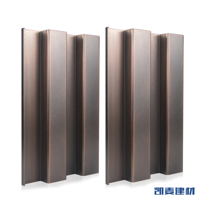 仿古铜拉丝长城铝单板