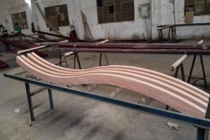 铝板焊接弧形大小头方管牛角型方管