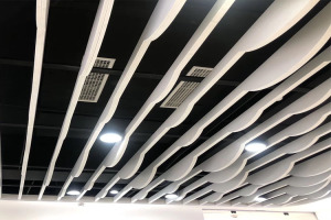 铝方管拉弯制作弧形铝方通