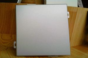 亚光白水性陶瓷铝单板