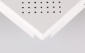 直角暗架冲孔铝扣板细节图