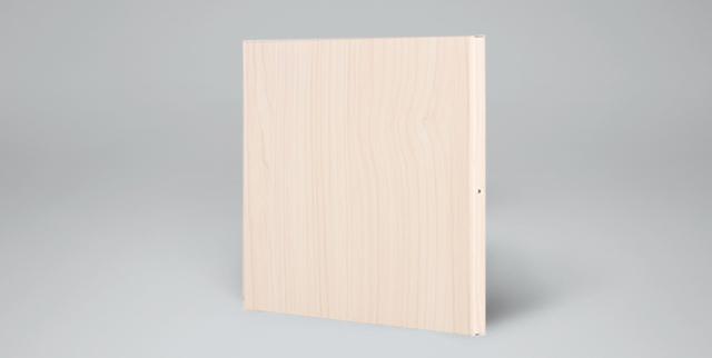 木纹铝蜂窝板面板正面图