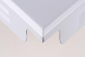 组合方格铝扣板正面图