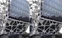 镂空造型铝合金门头板