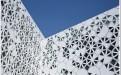 规则三角形镂空铝单板外墙