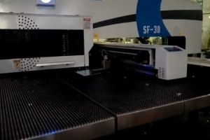 转塔冲床在铝单板生产的应用