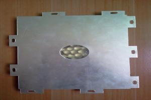 外墙铝蜂窝板背面