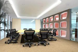 会议室灯槽铝板