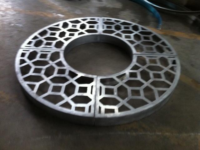 圆形雕刻铝单板