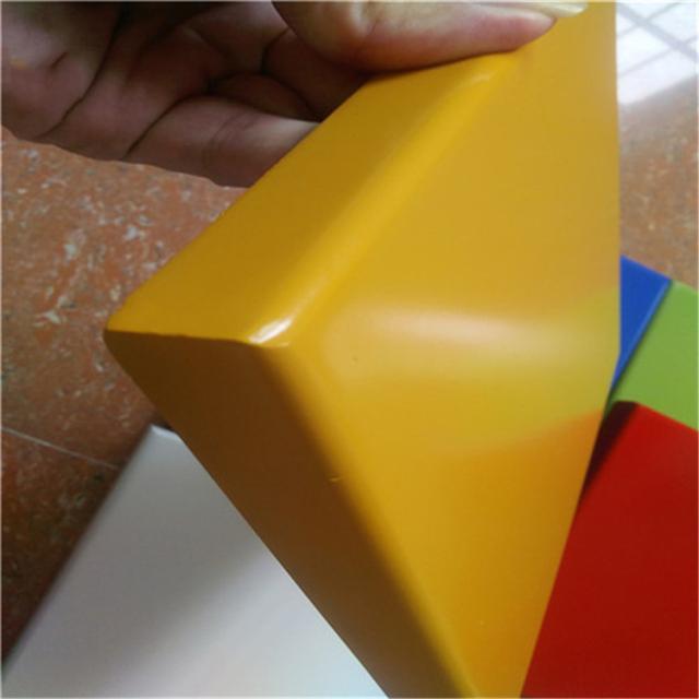 黄色烤瓷铝板