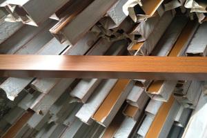 木纹铝方通型材