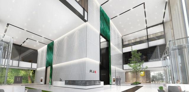 合肥皖新文化产业总部冲孔吸音铝单板