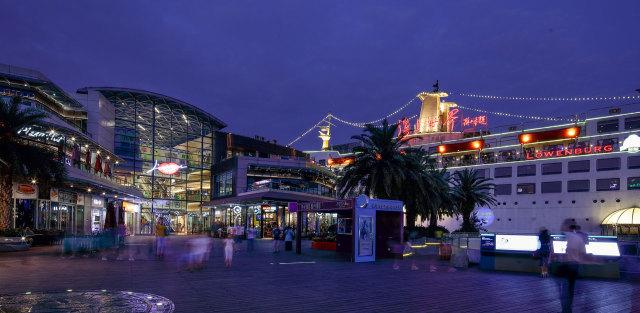 深圳海上世界商业广场外墙铝单板