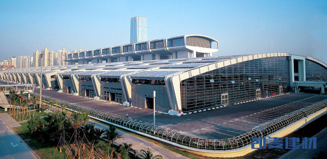 深圳会议展览中心墙面铝单板
