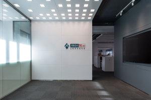 前台背景墙白色铝单板