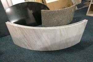 拱形铝蜂窝板