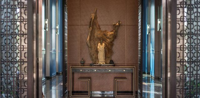 西安華海別墅鋁合金屏風