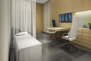 私人診室墻面木紋鋁單板