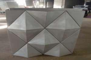 宝石形凹凸造型铝单板
