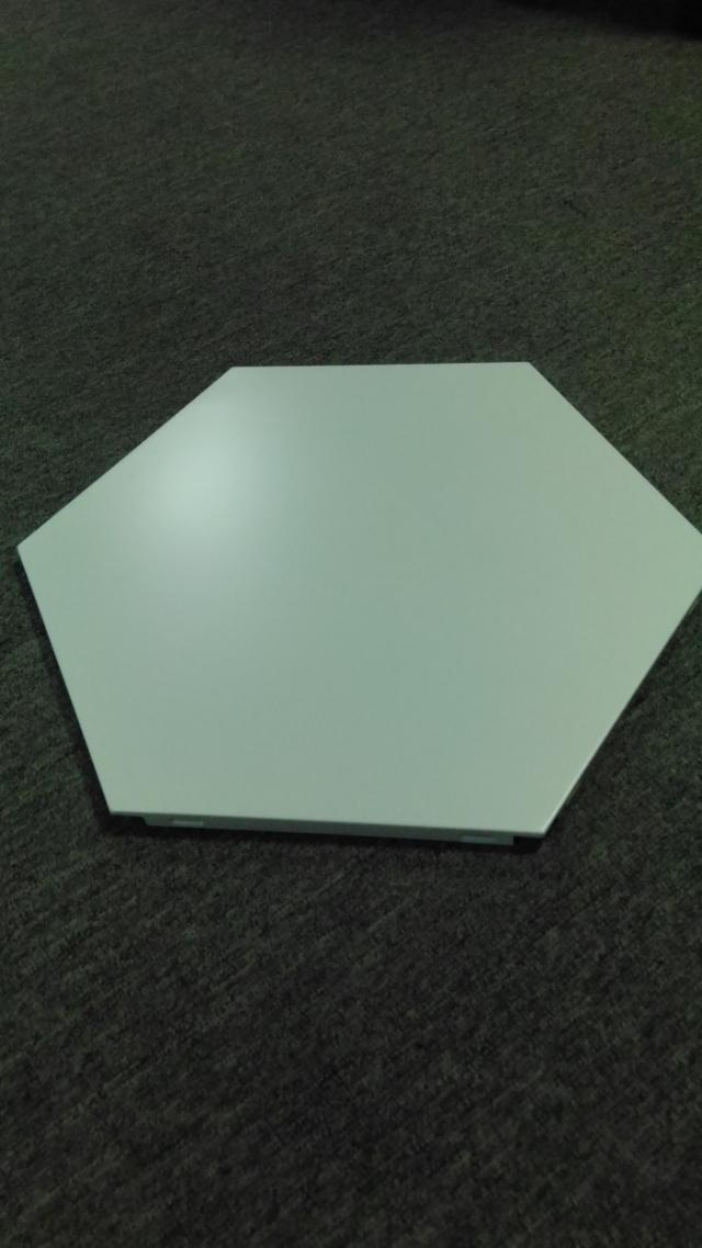 平面六角形铝扣板