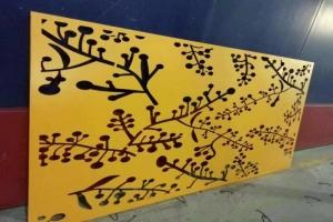 树枝形雕花铝单板