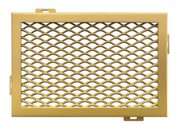 金色铝拉网板