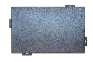 3D皱纹烤漆铝单板