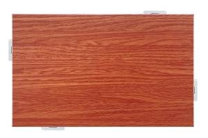 白橡木纹色铝单板