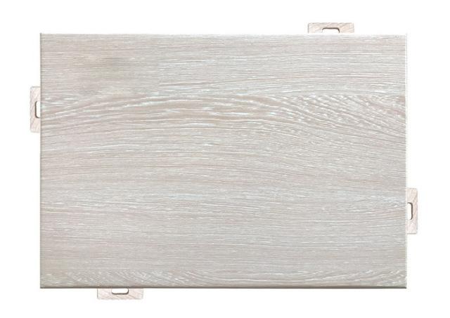 白橡木纹铝单板