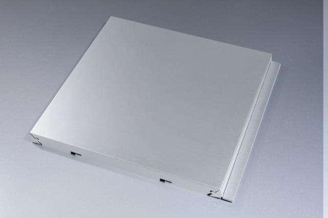 银灰色磨砂干挂铝单板