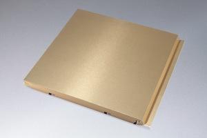 金色氟碳干挂铝单板
