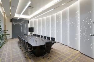 会议室V形雕刻空铝单板