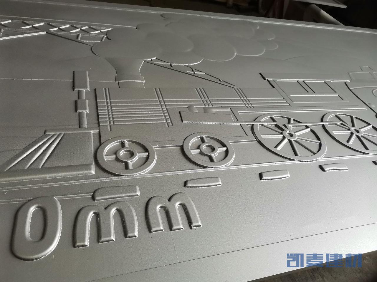 铝板浮雕细节
