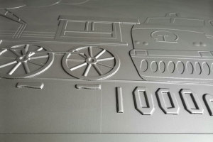 浮雕凸出部分细节