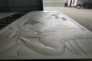 人物图案浮雕铝单板