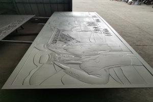 人像浮雕铝单板