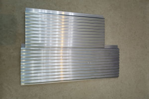 波浪造型铝型材