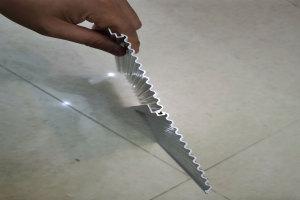 波浪铝型材勾搭式卡装