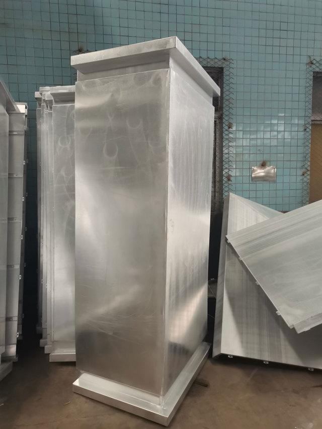 弓字造型转角铝单板