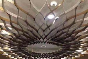 丝带型铝单板吊顶